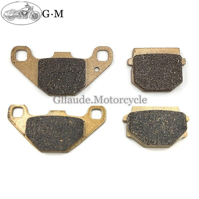 Plaquettes de frein avant/arrière de moto | Pour Kawasaki KMX 125 KMX125 1986 1987 1988 1989 1990-1998 KMX200 KMX 200 1988-1992