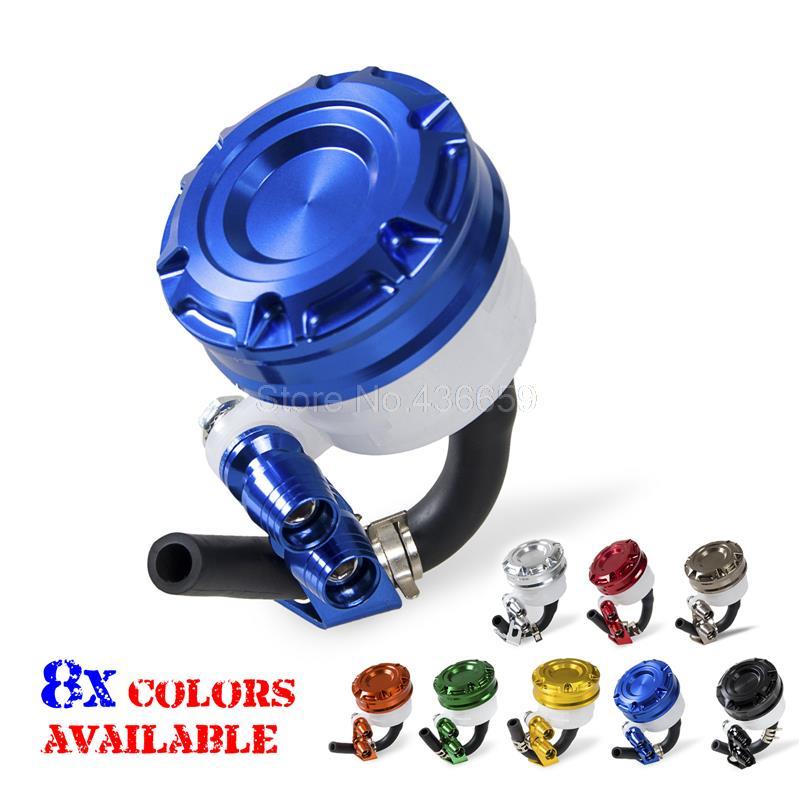 Blue Front Brake Tank Master Cylinder Fluid Reservoir For Yamaha YZF-R1 R6 R6S Motorcycles Frames Parts