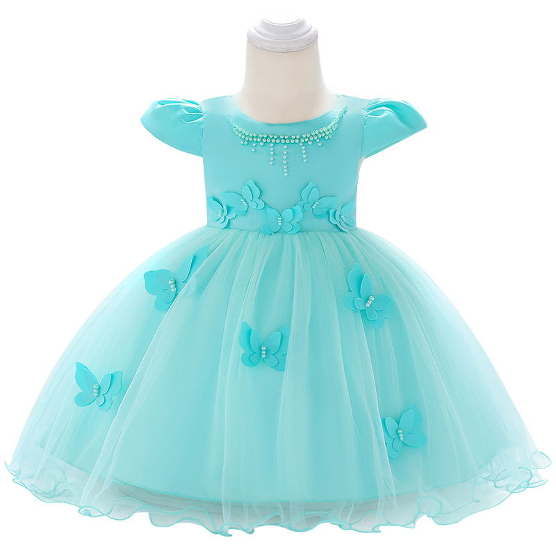 5063408338c15 2019 summer infant Baby Girl Dress Lace white Baptism Dresses for Girls 1st  year birthday party. sku: 32863123514