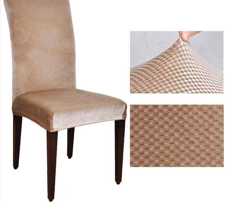 online shop top velvet fabric universal elastic dining chair