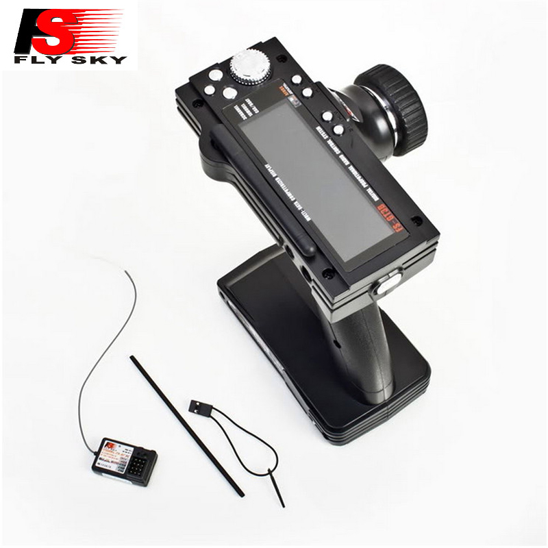 1pcs Flysky FS-GT3B FS GT3B 2.4G 3CH Gun RC System Transmitter With FS-GR3E Receiver For RC Car Boat With LED Screen Dropship