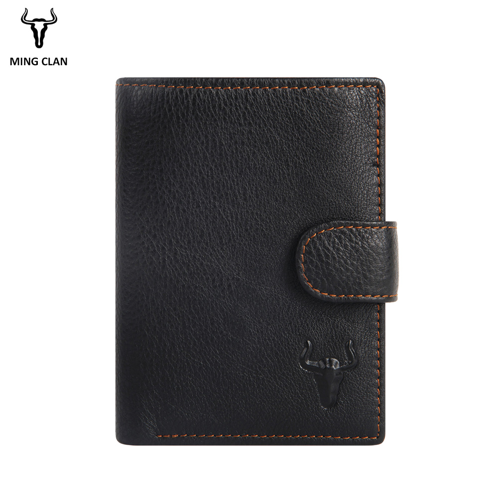 2019 Leather Men Wallets With 2 ID Windows And Coin Pocket Card Wallet for Men Authentic Leather Wallets Men Money Bag 2019 Leather Men Wallets With 2 ID Windows And Coin Pocket Card Wallet for Men Authentic Leather Wallets Men Money Bag