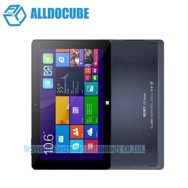 Original Cube i10 Dual Boot Tablet PC 10.6'' IPS 1366x768 Windows 10+ Android 4.4 Intel Z3735F Quad Core 2GB RAM 32GB ROM HDMI