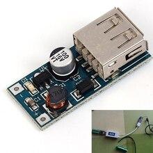 DC 0.9 В-5 В до 5 В 600ma Запасные Аккумуляторы для телефонов Зарядное устройство шаг повышающий преобразователь питания Напряжение модуль USB Выход зарядки плата