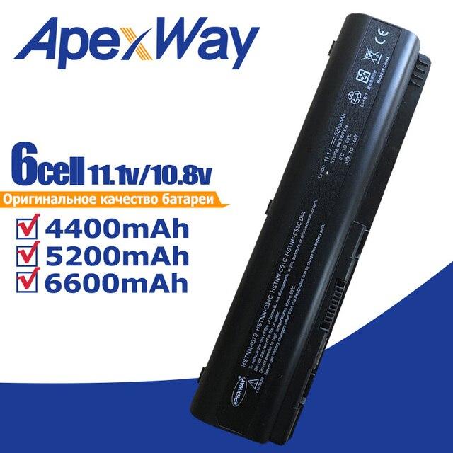 Batteria del computer portatile per HP Pavilion DV4 DV5 DV6 G71 G50 G60 G61 G70 DV6 DV5T HSTNN IB72 HSTNN LB72 HSTNN LB73 HSTNN UB72 HSTNN UB73