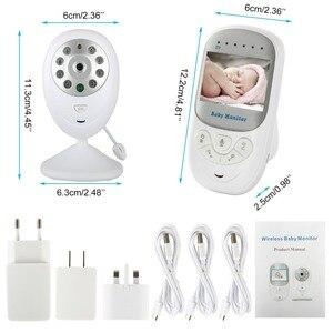 """Image 5 - ทารกไร้สายนอนMonitor 2.4 """"จอแอลซีดีวิดีโอHDการรักษาความปลอดภัยกล้องดิจิตอลสอง ทางพูดคุยใกล้วิสัยทัศน์IRอุณหภูมิร้องไห้ปลุก"""