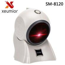 20 Lines USB/RS232/PS2 Desktop Omnidirectional 1D Laser Barcode Scanner  POS Barcode Reader for Retail Store/Supermarket