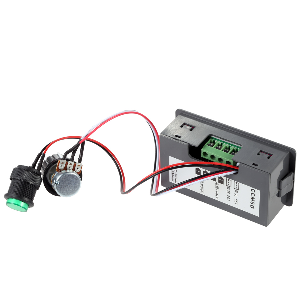12v Speed Control Pwmmotorcontrollerwithforwardandreversejpg Digital Display Led Motor Controller Stepless Switch In Tool Parts From Tools On