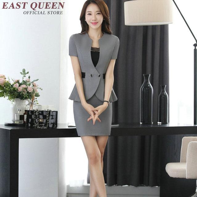 53b3ea82f3 Trajes de falda femenina falda elegante trajes para mujer trajes de  negocios KK1022 y