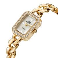 2019 G&D Luxury Brand Women Bracelet Watches Gold Fashion Rectangle Watch Laides Quartz Wristwatch relogio feminino reloj mujer