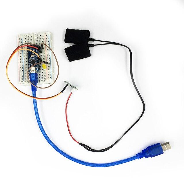 Grove - GSR Sensor skin current sensor suite measurable skin resistance conductivity sensor