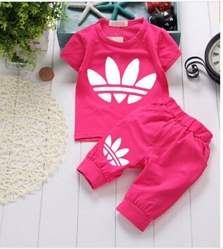 Brand Baby Clothing Designer Newborn Clothes 2015 Summer Girls And Boys Suits Short Sleeved T Shirt Shorts Sets In From Mother