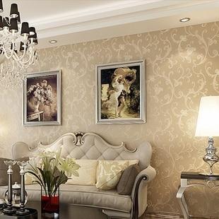 ... Wholesale Non Woven European Classic Retro Flower Design Wallpaper  Murals Roll For Full Living Room Part 40