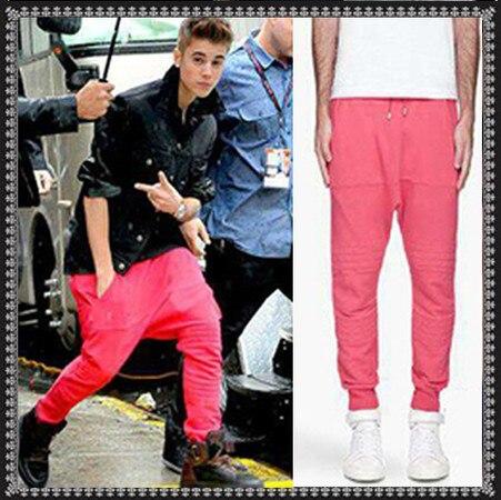 27 44 Nuovo 2017 abbigliamento uomo Justin Bieber moda gd piedi squirrel  pantaloni harem croce pantaloni più dimensione costumi cantante in 27-44  Nuovo 2017 ... 688e0feddbc6