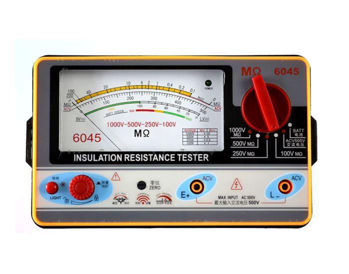 Resistivity Meter Analog : Ty v insulation resistance meter