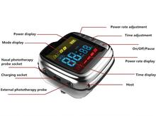 Healthcare laser blood cleaner cold laser acupuncture therapy watch high blood sugar reducing device цены
