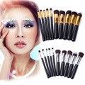 Pro 10 pcs Set Kits de Maquiagem Blushes Kabuki Beleza Cosméticos Make Up Tools Styling Para O Pó Fundação Sombra Delineador