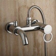 Ванна душ меди горячей и холодной смеситель мин монтаж