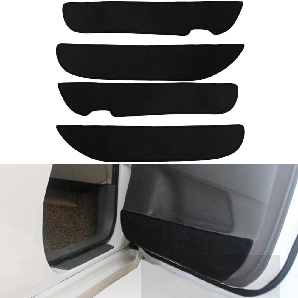 Car Door Protection Film Anti-kick Pad Decorative for Toyota Verso E'Z 4pcs per set new arrival car auto care seat back protector case cover for children baby kick mat mud clean plastic transparent anti kick pad