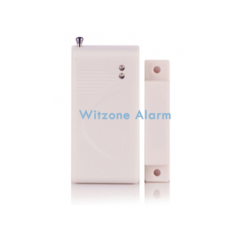 315/433MHz SC2262/EV1527 Wireless Door Gap Sensor for Home Alarm Security System Magnetic Sensor, Security Door Contact Sensor smartyiba 433mhz wireless door window sensor door open detection alarm door magnetic sensor door gap sensor for alarm system