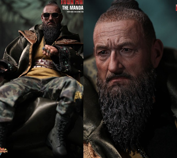 1/6 scale Figure doll .12 action figures doll Iron Man Three The Mandarin Ben Kingsley.Collectible model figure doll toy gift 2017 new 1 6 1 6 12 action figures g43 sinper rifle tactical gun christmas gift free shipping boy toy birthday present