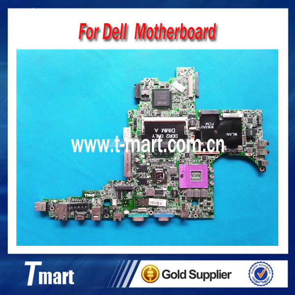 ФОТО 100% working Laptop Motherboard for Dell D830 RT783 System Board fully tested