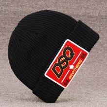 Dsqicond2 новые брендовые головные уборы skullies beanie вышивка