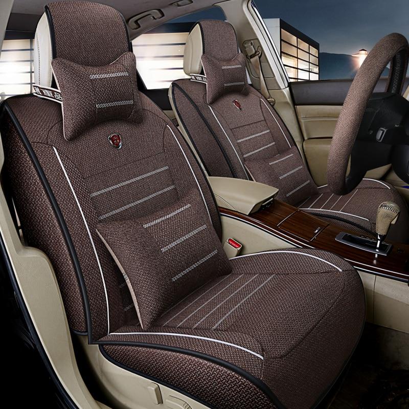 Universal car seat cover automobile seat covers for Nissan X-TRAIL t30 t31 t32 Juke Qashqai J10 J11 Tiida C11 C12 C13 March K13