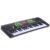 37 Teclas de Música para Teclado Electrónico Kid Piano Organo Eléctrico W/Micrófono y Adaptador de Juguete de Instrumentos Musicales para Niños