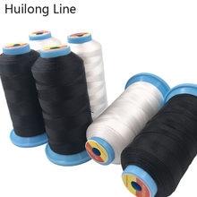 Fil à coudre élastique 210D 420D 630D, fil haute résistance, résistant à l'usure et matériau ferme, extensible adapté aux tissus élastiques