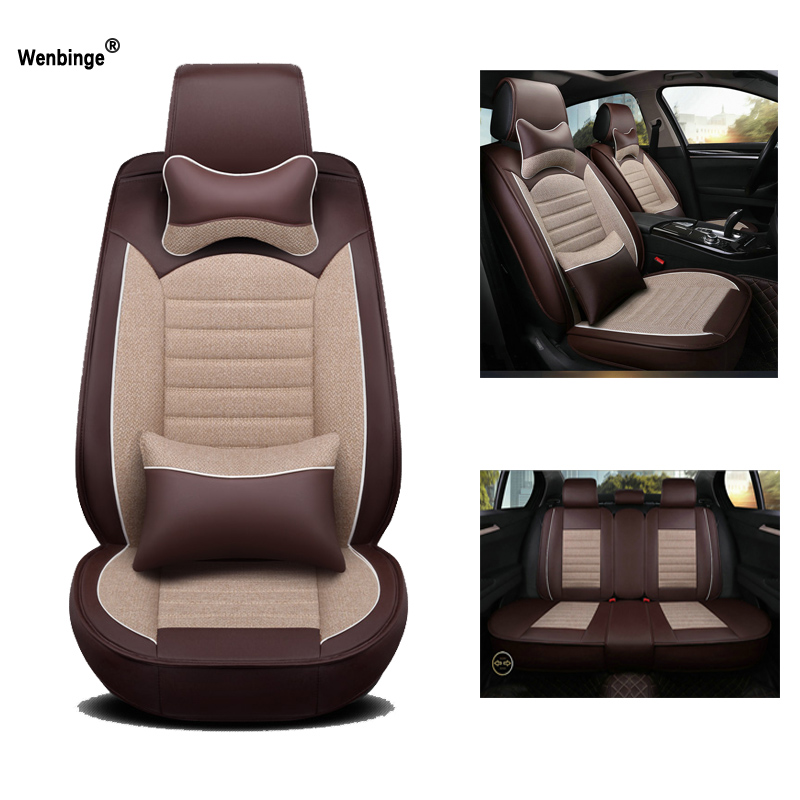 Universal Leather car seat cover For skoda rapid superb 2 yeti kodiaq octavia a5 car accessories seat protector car styling|Automobiles Seat Covers| |  - title=