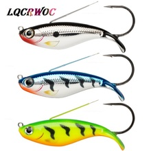 Купить с кэшбэком NEW Minnow 21g 85mm jig for fishing lure single hook spoon spinner crank swim jerk bait wobblers jigging pesca isca artificial