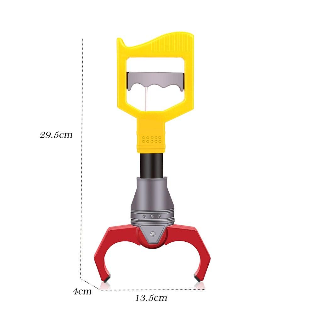 Желтый Контроль силы механический зажим манипулятор вещи захват детская игрушка новейший захват рука коготь запястье укрепление творческий