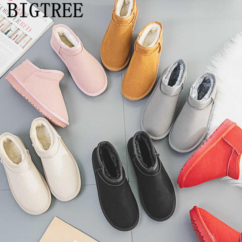 Kadınlar için kış çizmeler kar botları kadın yarım çizmeler kadın rahat ayakkabılar chaussures femme botas mujer invierno bottines femme ayakkabi