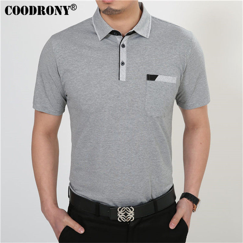 Free Shipping Short Sleeve T Shirt Cotton Clothing Men T-Shirt With Pocket Casual Dress Factory Wholesale Plus Size S XXXXL  1