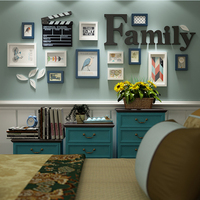 12 Piece Sets of Wood Photo Frames Wall Hanging Artware Photos Frame for Picture Home Decoration Wooden Craft Picture Frame