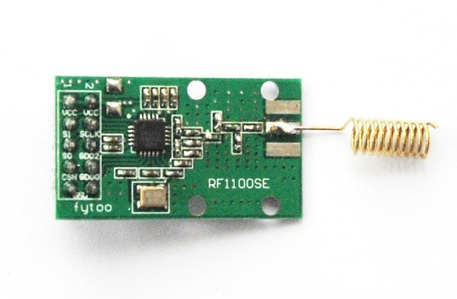 Freeshipping 868 M/ 915 MHZ wireless module/CC1101L cc1101  wireless data transmission module