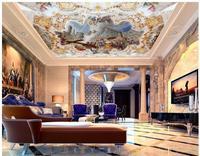 3d customized wallpaper living 3d wallpaper European Space ancient god of the sky zenith ceiling 3d ceiling murals wal frescoes