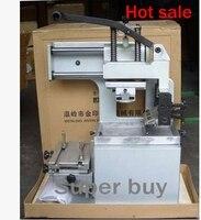Máquina de impresión de almohadilla Manual con sistema inkwell, 1 color, 5 Placas de cliche, 2 almohadillas de goma