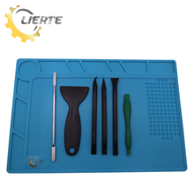 Lierte 6 In 1 Mobile Cell Phone Repair Hand Tools Opening Pry Tool Kit Spudger Metal Disassemble Cross Crowbar Rods For iPhone