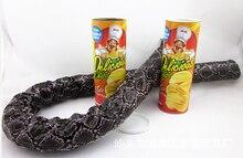 День Смеха весь человек ведро чипсы Змея Bounce Хэллоуин пародия Tricky Чипов детские вещицы