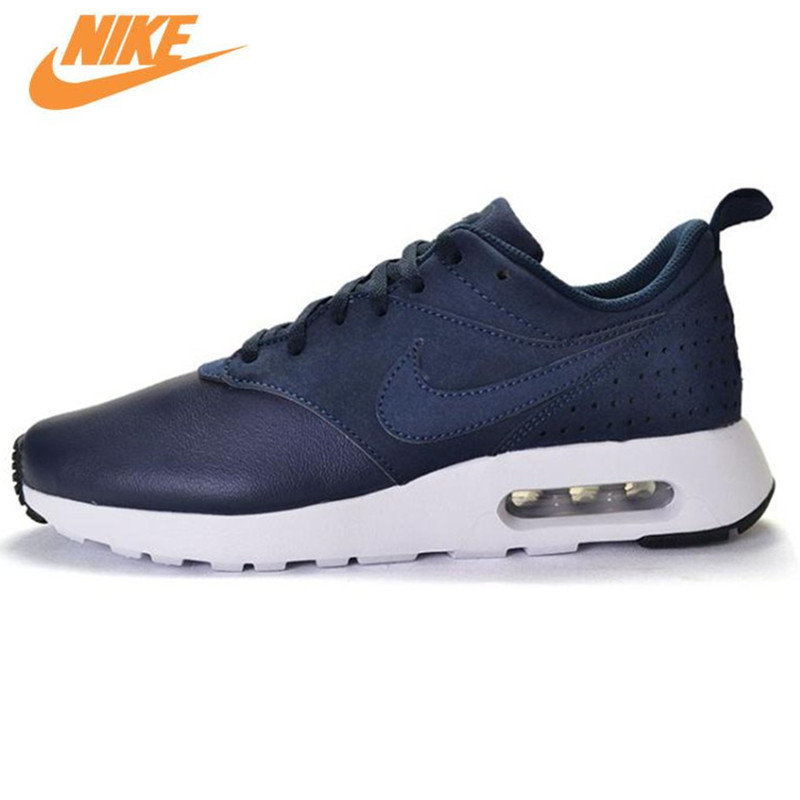 NIKE Leather Surface AIR MAX Original Men's Running Shoes Low Top Sneakers 802611 tcart 1set car led daytime running lights drl auto led white yellow fog lamps with yellow turn signals for ford ranger 2015 2016