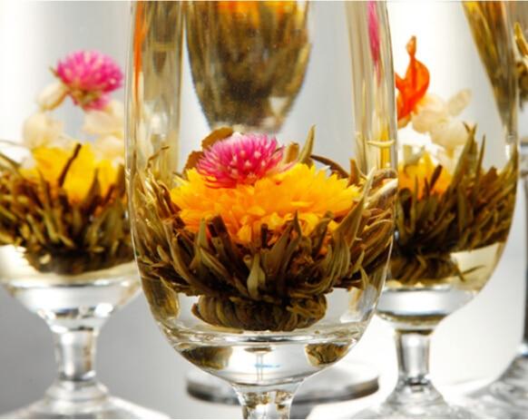Чай зеленый цветок
