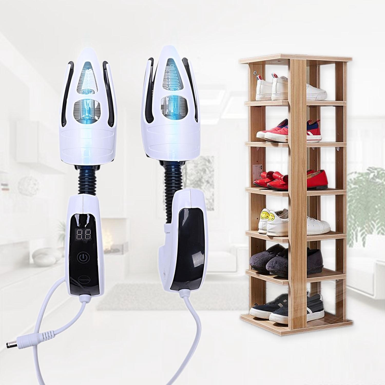 Электрическая сушилка для обуви дезодорант УФ обувь стерилизация устройство качество Выпекание сушилка для обуви с озоном светодиодный Таймер сенсорный выключатель
