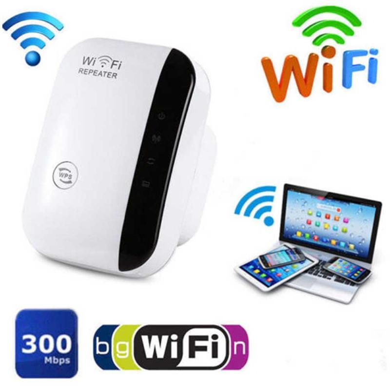 WiFi Range Extender Super Booster 300Mbps Superboost Boost Speed Wireless WiFi Repeater DJA99