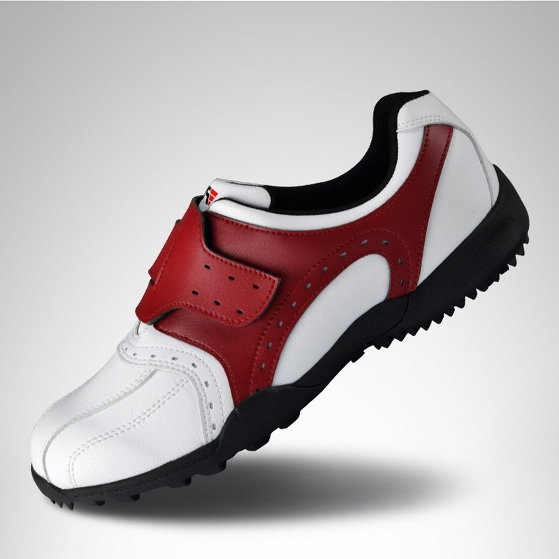 Men Golf Shoes Breathable Cushioning Sneakers Lightweight Slip Resistant Sports Shoes Lights Outdoor Walking Trainer B1337