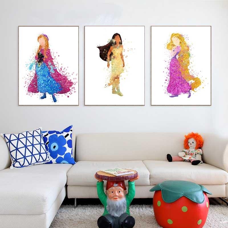 Vergelijk prijzen op cinderella cartoon online winkelen kopen lage prijs cinderella cartoon - Moderne kamer volwassen schilderij ...