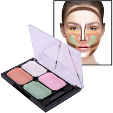 Natural Professional Concealer Palettes 4 Colors makeup Foundation Facial Face Cream Cosmetic contour palette concealer palette
