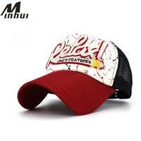 Minhui Net Summer Snapback Hats Women Baseball Caps Casquette Letter Hip Hop Caps For Men Women