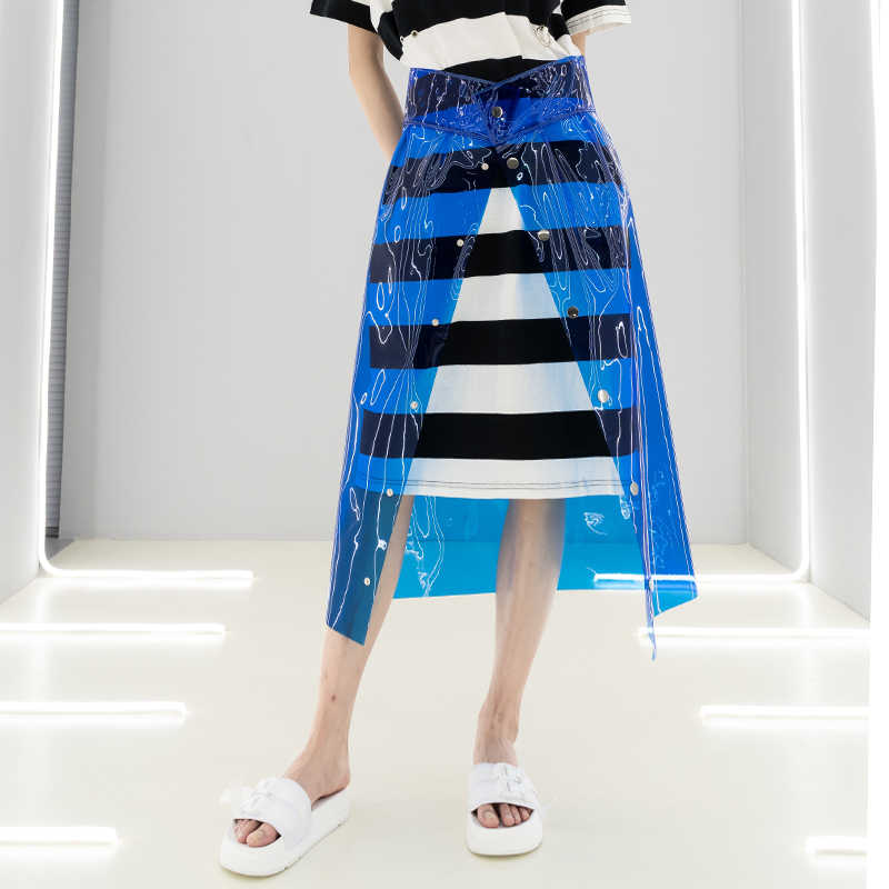 c0ee4d71f768c Detail Feedback Questions about Summer New Women Clear PVC Skirt ...